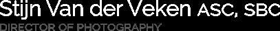 Stijn Van der Veken ASC, SBC Logo